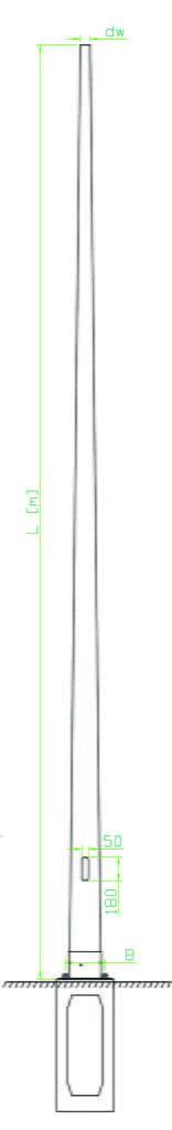 SKf lighting poles