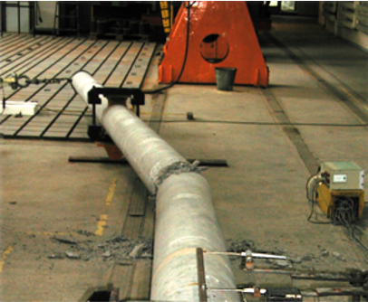 prestressed concrete poles transfer much greater forces than wooden or reinforced concrete poles2strength tests