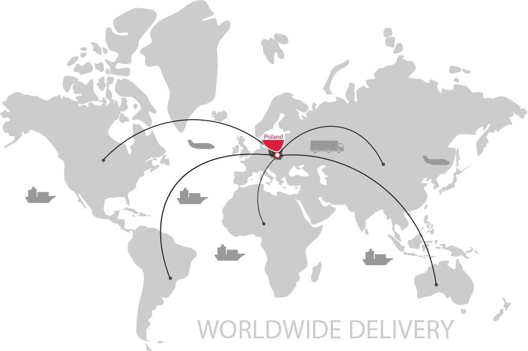 Worldwide delivery Strunobet Migacz Poland